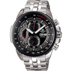 Casio Edifice Classic Chronograph Black Bracelet Watch EF-558D-1AVEF