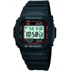 Casio G-Shock Classic Solar Digital Black Plastic Strap Watch GW-M5610-1ER