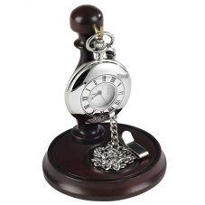 Burleigh Half Hunter Pocket Watch and Stand 1925