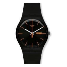 Swatch Unisex Dark Rebel Watch SUOB704