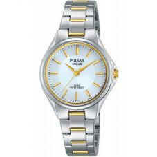 Pulsar Ladies Two Colour Solar Sports Watch PY5035X1