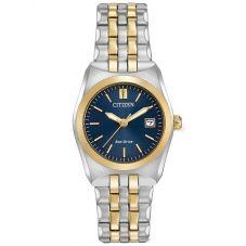 Citizen Ladies Corso Two Tone Bracelet Watch EW2294-53L