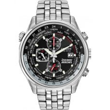 Citizen Mens Chronograph Red Arrows Bracelet Watch CA0080-54E