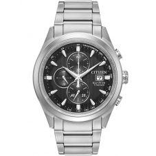 Citizen Mens Super Titanium Chronograph Bracelet Watch CA0650-58E
