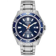 Citizen Mens Promaster Diver Azure Blue Bracelet Watch BN0191-55L