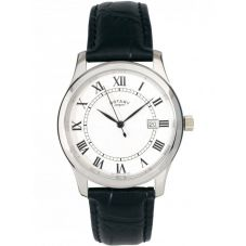 Rotary Ladies Stainless Steel Black Strap Watch GS00792-21