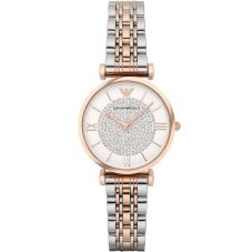 Emporio Armani Ladies Two Tone Bracelet Watch AR1926