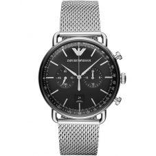 Emporio Armani Mens Chronograph Bracelet Watch AR11104