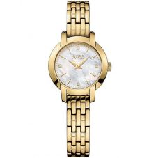 BOSS Ladies Success Gold Bracelet Watch 1502381
