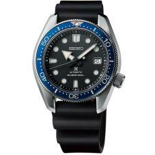 Seiko Mens Prospex Divers Automatic Black Rubber Strap Watch SPB079J1