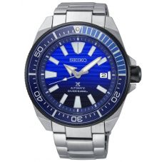 Seiko Mens Prospex Save The Ocean Special Edition Automatic Blue Bracelet Watch SRPC93K1