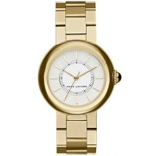 Marc Jacobs Ladies Courtney Gold Plated Bracelet Watch MJ3465