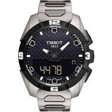 Tissot Mens T-Touch Expert Solar Titanium Bracelet Watch T091.420.44.051.00