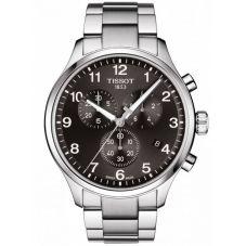 Tissot Mens T-Sport Chrono XL Classic Black Dial Bracelet Watch T116.617.11.057.01