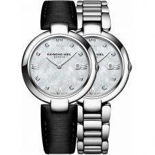 Raymond Weil Ladies Diamond Bracelet Watch 1600-STS000995