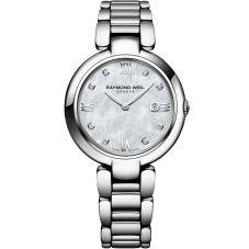 Raymond Weil Ladies Shine Diamond Bracelet Watch 1600-ST-000995