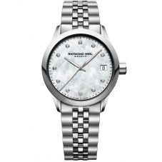Raymond Weil Ladies Freelancer Bracelet Watch 5634-ST-97081