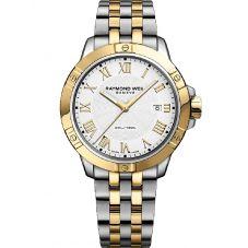 Raymond Weil Mens Tango Two Beat Rhythm Bracelet Watch 8160-STP000308