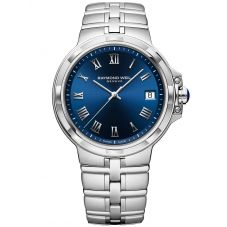 Raymond Weil Mens Parsifal Classic Blue Dial Bracelet Watch 5580-ST-00508