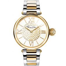 Thomas Sabo Ladies Two Colour Karma Bracelet Watch WA0299-291-202-38MM