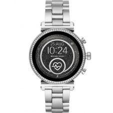 Michael Kors Ladies Access Sofie Gen 4 Stainless Steel Crystal Bezel Smartwatch MKT5061