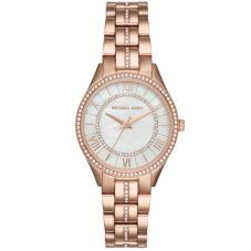 Michael Kors Ladies Lauryn Rose Gold-plated Bracelet Watch MK3716