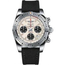 Breitling Mens Chronomat 41 Airborne Fabric Strap Watch AB01442J-G787 102W