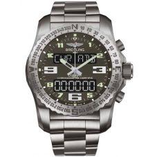 Breitling Mens Professional Cockpit B50 Titanium Bracelet Watch EB5010B1-M532 176