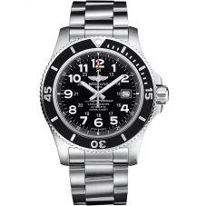 Breitling Mens Superocean II 44 Bracelet Watch A17392D7/BD68 162A