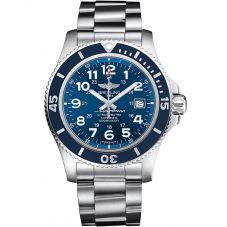 Breitling Mens Superocean II 44 Bracelet Watch A17392D8/C910 162A