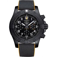 Breitling Mens Avenger Hurricane 45 Rubber Strap Watch XB0180E4/BF31 284S