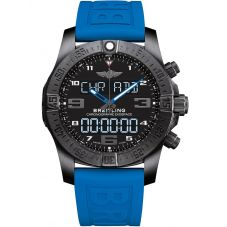 Breitling Mens Professional Exospace B55 Blue Rubber Strap Smartwatch VB5510H2/BE45 235S