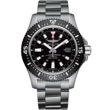 Breitling Mens Superocean Special 44 Black Bracelet Watch Y1739310/BF45 162A