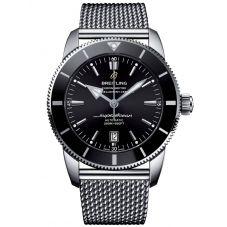 Breitling Mens Superocean Heritage II Automatic 46 Black Bracelet Watch AB202012/BF74 152A
