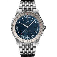 Breitling Mens Navitimer 1 Automatic 41 Blue Bracelet Watch A17326211C1A1