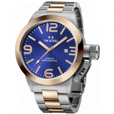 TW Steel Mens Canteen Bracelet Watch TWCB141
