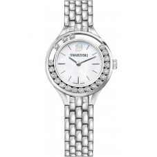 Swarovski Lovely Crystals Mini Silver Tone Bracelet Watch 5242901