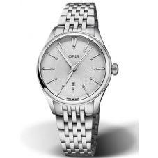 Oris Ladies Artelier Diamond Date Bracelet Watch 561 7722 4031-07-MB