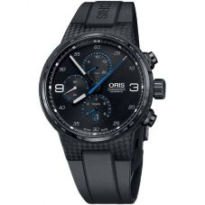 Oris Mens Williams Chronograph Limited Edition Strap Watch 674 7725 8764-07 4 24 50