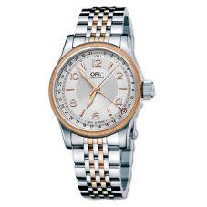 Oris Mens Big Crown Pointer Date Two Tone Bracelet Watch 754 7696 4361-07B