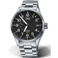 Oris Mens Big Crown ProPilot GMT Date Bracelet Watch 01 748 7710 4164-07 8 22 19