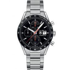 TAG Heuer Mens Carrera Calibre 16 Chronograph Bracelet Watch CV201AK.BA0727