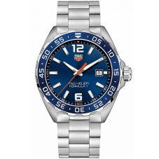 TAG Heuer Mens Formula 1 Quartz Blue Dial Bracelet Watch WAZ1010.BA0842