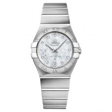 Omega Ladies Constellation Bracelet Watch 127.10.27.20.55.001