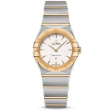 Omega Ladies Constellation Manhattan Two-Tone Bracelet Watch 131.20.25.60.02.002