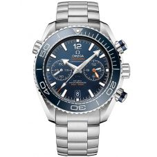 Omega Mens Seamaster Planet Ocean Blue Bracelet Watch 215.30.46.51.03.001
