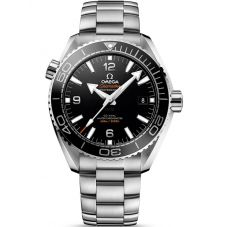 Omega Mens Seamaster Planet Ocean Black Bracelet Watch 215.30.44.21.01.001