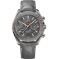 Omega Mens Speedmaster Moonwatch Leather Strap Watch 311.63.44.51.99.001