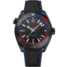 Omega Mens Seamaster Planet Ocean Black Rubber Strap Watch 215.92.46.22.01.004
