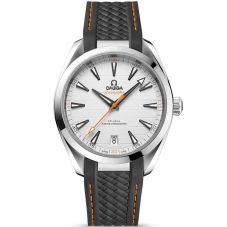 Omega Mens Seamaster Aqua Terra Rubber Strap Watch 220.12.41.21.02.002